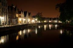 Brugge at night Royalty Free Stock Photos