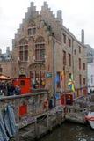 Brugge, piękny miasto w Belgia 2 zdjęcia stock