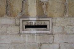 Brugge post box, Belgium Stock Photography
