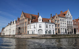 Brugge's canals, Belgium Stock Photography
