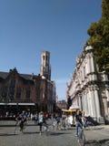 Brugge stad Arkivfoto