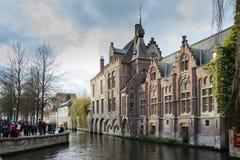 Brugge, stad van de provincie van West-Vlaanderen, België royalty-vrije stock foto's