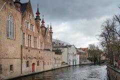 Brugge, stad van de provincie van West-Vlaanderen, België royalty-vrije stock fotografie