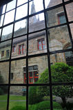 Brugge stary szkło Obraz Stock