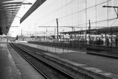 Brugge station Royaltyfria Bilder