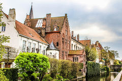 Brugge street #2. Some street in Medieval Brugge royalty free stock photos