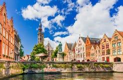 Brugge, Vlaanderen, België stock afbeelding