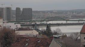 Bruggen Belgrado Servi? stock footage