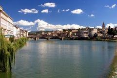 Bruggen in Florence stock afbeelding