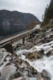 Bruggen in Noorwegen Royalty-vrije Stock Fotografie