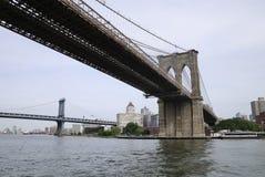 Bruggen van New York Stock Afbeeldingen