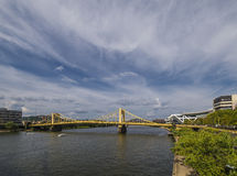 Bruggen van Pittsburgh Stock Foto