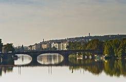 Bruggen van Praag Royalty-vrije Stock Foto
