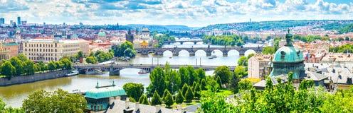 Bruggen van Praag stock foto