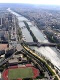 Bruggen van rivier sena royalty-vrije stock afbeeldingen