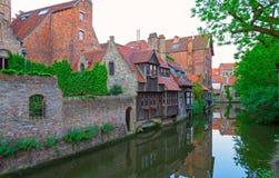 Brugges Belgien. arkivbilder