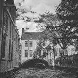 Brugges Belgien, Europa arkivfoto