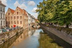 Brugges byggnad och arkitektur royaltyfri bild