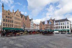 Brugges Markt Belgique Photo stock