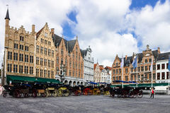 Brugges Markt Belgium Royalty Free Stock Photography