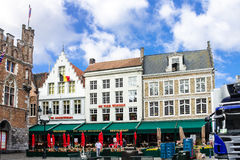 Brugges Markt Belgium Royalty Free Stock Images