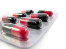 Brughiera della medicina delle pillole Fotografia Stock Libera da Diritti