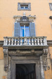 Brugiotti Palace. Viterbo. Lazio. Italy. Royalty Free Stock Photo