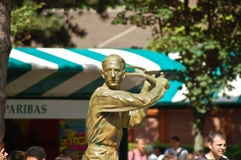 brugnon άγαλμα Ζακ mousquetaire Στοκ φωτογραφία με δικαίωμα ελεύθερης χρήσης