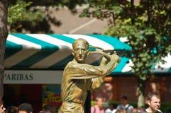 brugnon Jacques mousquetaire statua zdjęcie royalty free