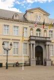 Brugse Vrije庄园  城镇正方形 布鲁日 比利时 库存图片