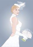 Bruid Vector Illustratie