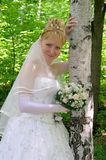Bruid 4 Royalty-vrije Stock Foto's