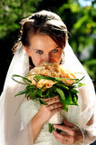 Bruid Royalty-vrije Stock Fotografie