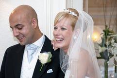 Bruid en Bruidegom Royalty-vrije Stock Foto
