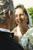 Bruid en bruidegom. stock afbeelding
