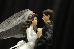 Bruid en Bruidegom Stock Afbeeldingen