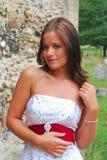 Bruid in Mooie kleding Stock Fotografie