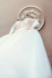 Bruid` s kleding Royalty-vrije Stock Foto