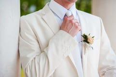 bruidegom Stock Foto