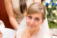 Bruidegom en bruid Royalty-vrije Stock Foto's