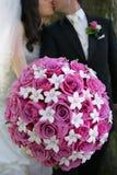 Bruidegom en Bruid Stock Afbeeldingen