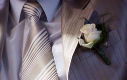 Bruidegom, mannelijk kostuum Stock Fotografie
