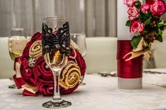 Bruidegomglas Royalty-vrije Stock Afbeeldingen