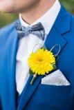 Bruidegomkostuum Royalty-vrije Stock Foto's