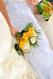 Bruiden Royalty-vrije Stock Foto's