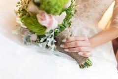 Bruidenboeket Stock Afbeeldingen