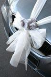 Bruids auto Royalty-vrije Stock Foto
