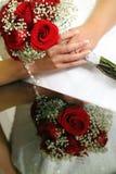 Bruids Bezinningen stock afbeeldingen