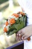 Bruids bloem Stock Foto
