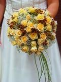 Bruids boeket Royalty-vrije Stock Afbeeldingen